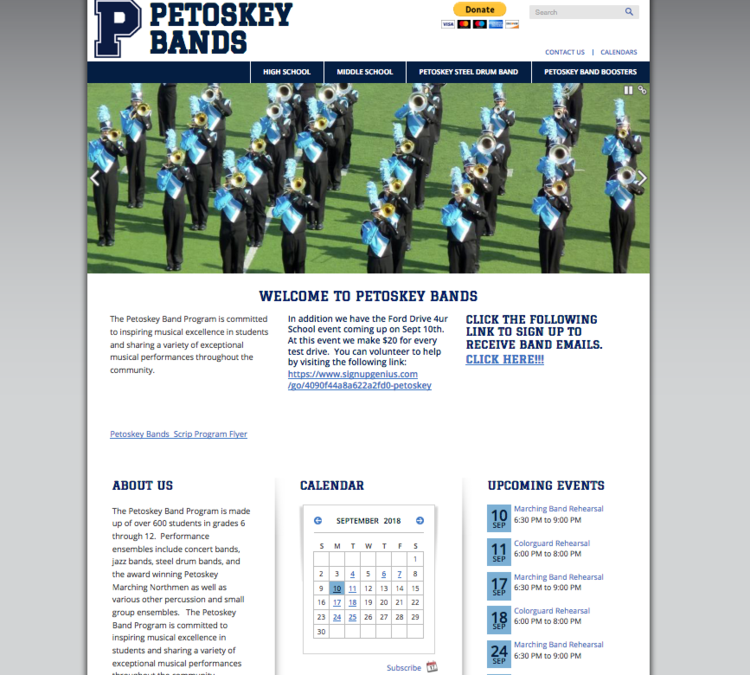 View large photo of Petoskey Bands