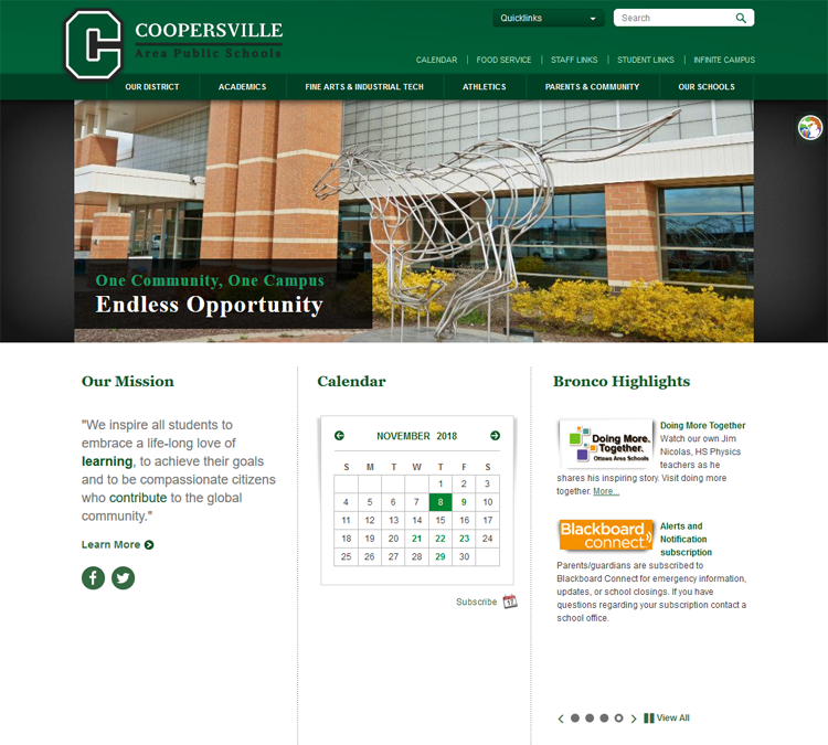 View large photo of Coopersville Area Public Schools