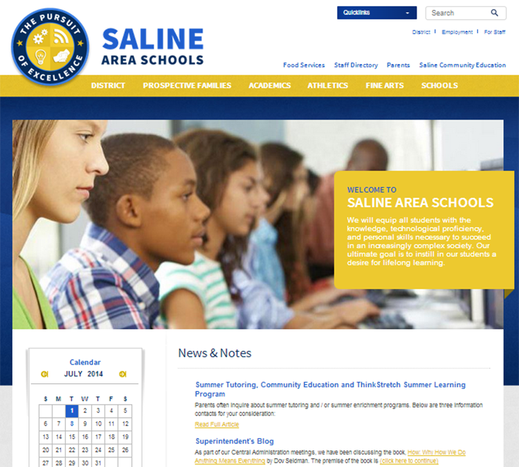 View large photo of Saline Area Schools