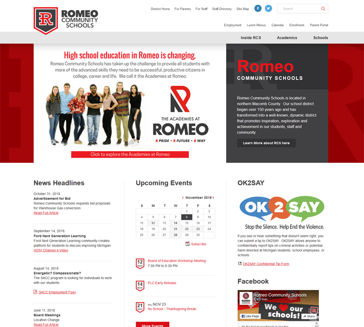 View large photo of Romeo Community Schools