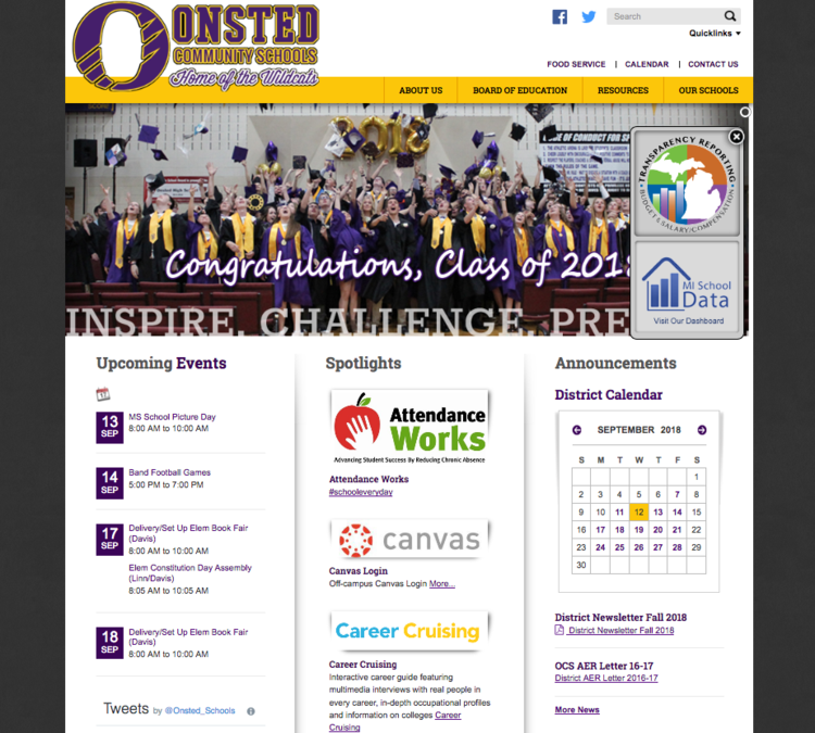 View large photo of Onsted Community Schools