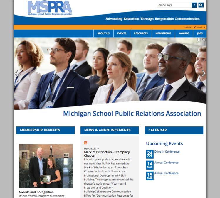 View large photo of Michigan School Public Relations Association