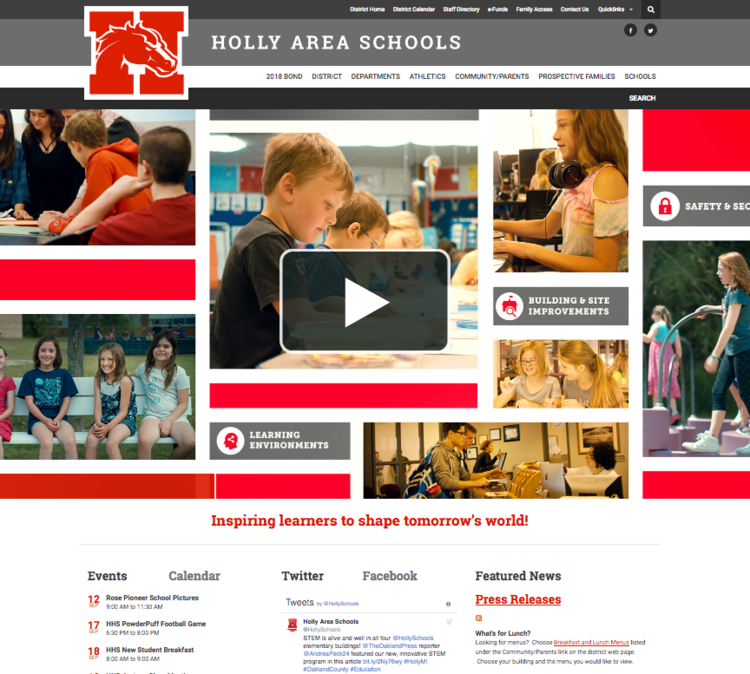 View large photo of Holly Area Schools