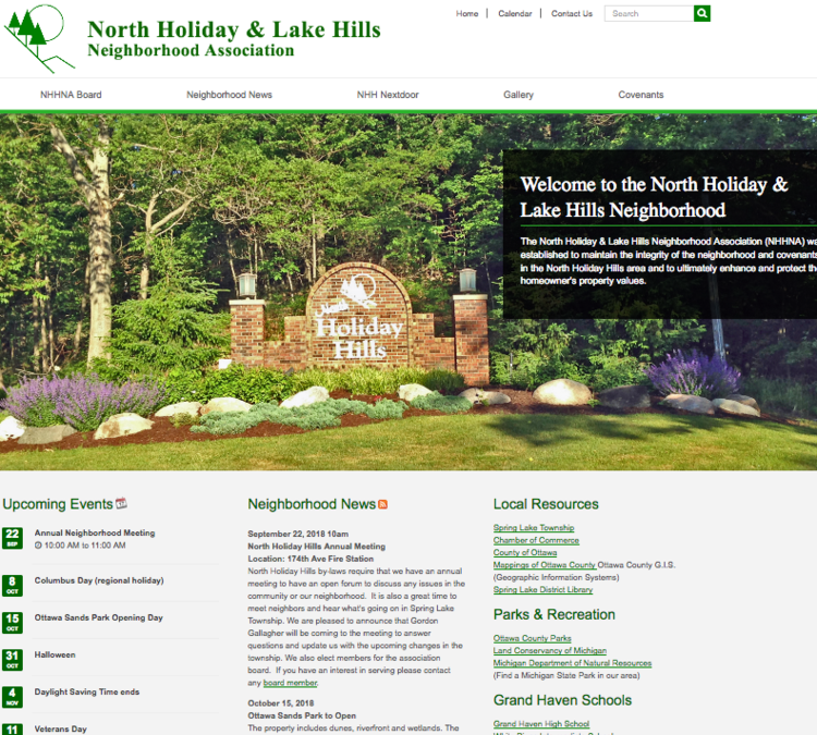 View large photo of North Holiday & Lake Hills Assoc.